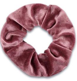 With love Scrunchie velvet - raspberry rose