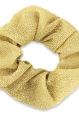 With love Scrunchie glitter gold