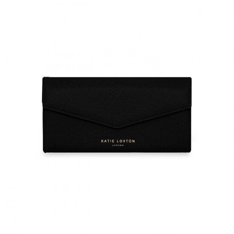 Katie Loxton Esme enveloppe purse - One in a million - black 10 x 2.5 x 20 cm