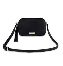 Katie Loxton Sophia tassel crossbody bag - Black - 15 x 22 x 6 cm