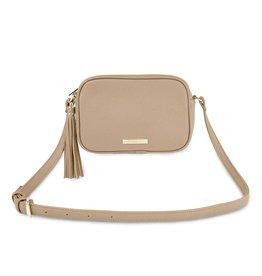 Katie Loxton Sophia tassel crossbody bag - Taupe - 15 x 22 x 6 cm