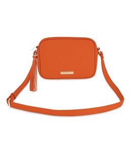 Katie Loxton Sophia tassel crossbody bag - Orange - 15 x 22 x 6 cm
