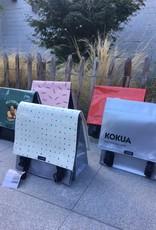 Clarijs Clarij bike bag - Kokua silver - 35 x 35 cm