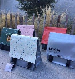 Clarijs Clarijs bike bag - Kokua silver - 35 x 35 cm