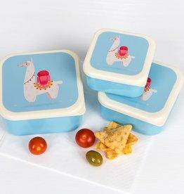 Rex London Set of 3 snack boxes Dolly llama