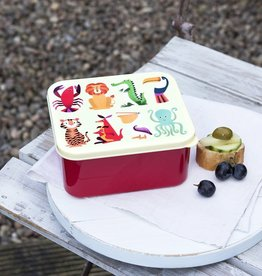 Rex London Lunch box - Colourful creatures