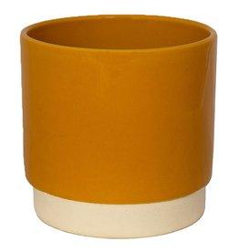 Eno flower pot mustard 13 x 13 cm