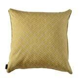 Cushion nice yellow 60 x 60 cm