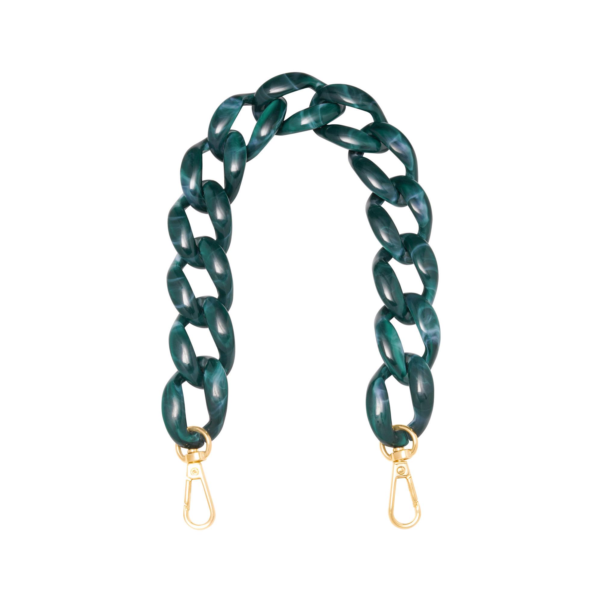 With love Bag cord Lola - petrol 34 cm