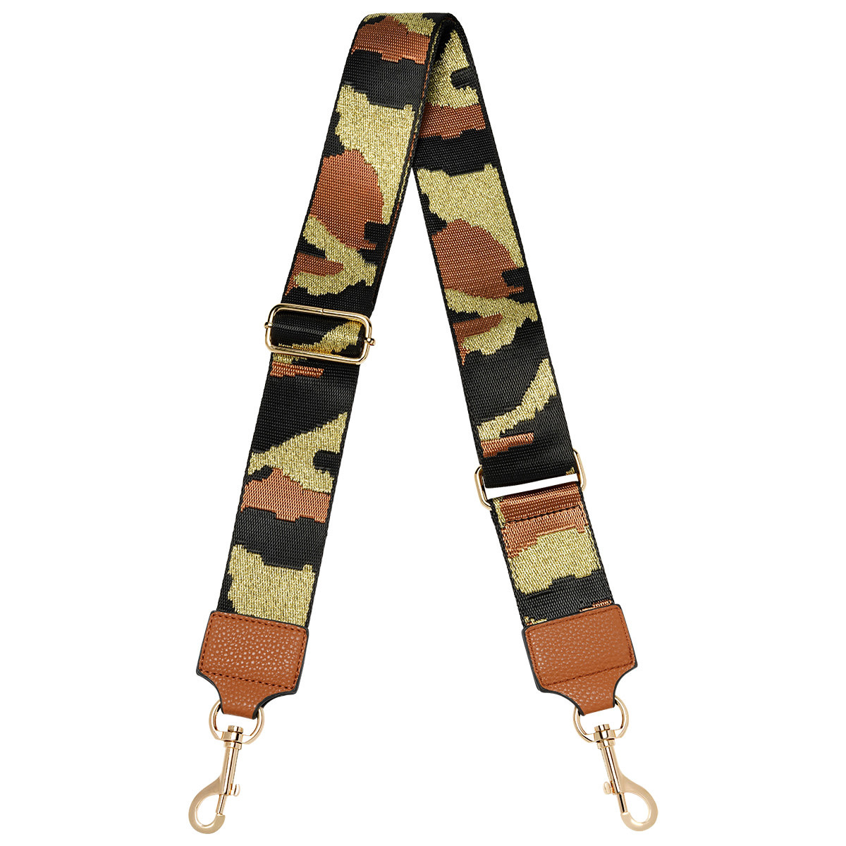 With love Bag strap Army - cognac