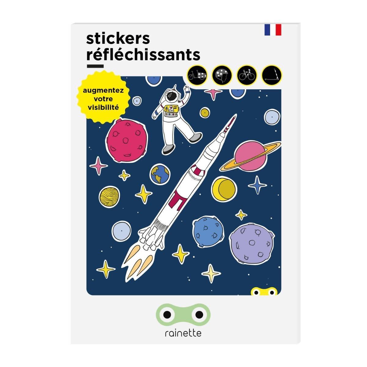 Rainette Rainette reflective stickers - Espace