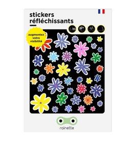 Micro Mobility Rainette reflective stickers - Fleurs