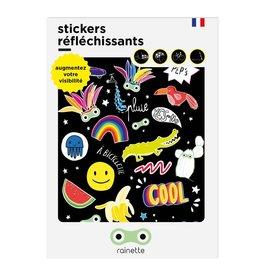 Rainette Rainette reflective stickers - Pep's