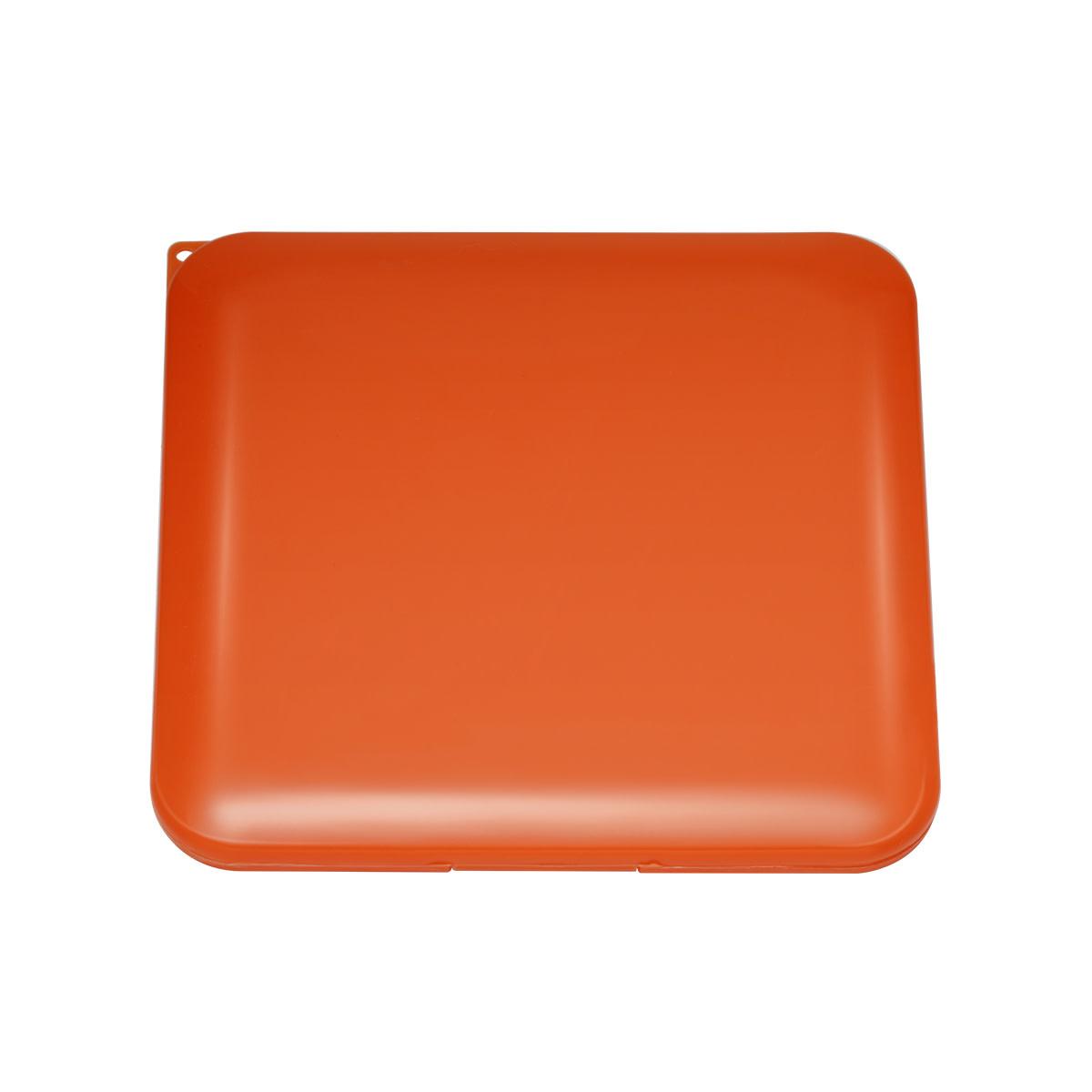 With love Portable face mask holder - orange