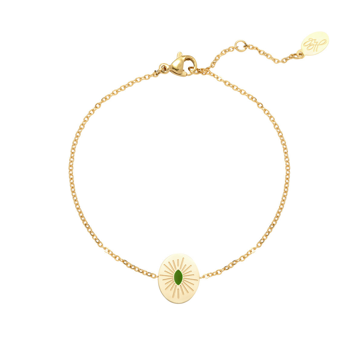 With love Bracelet sweet like candy gold - green