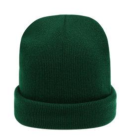 With love Beanie rainbow colors - dark green
