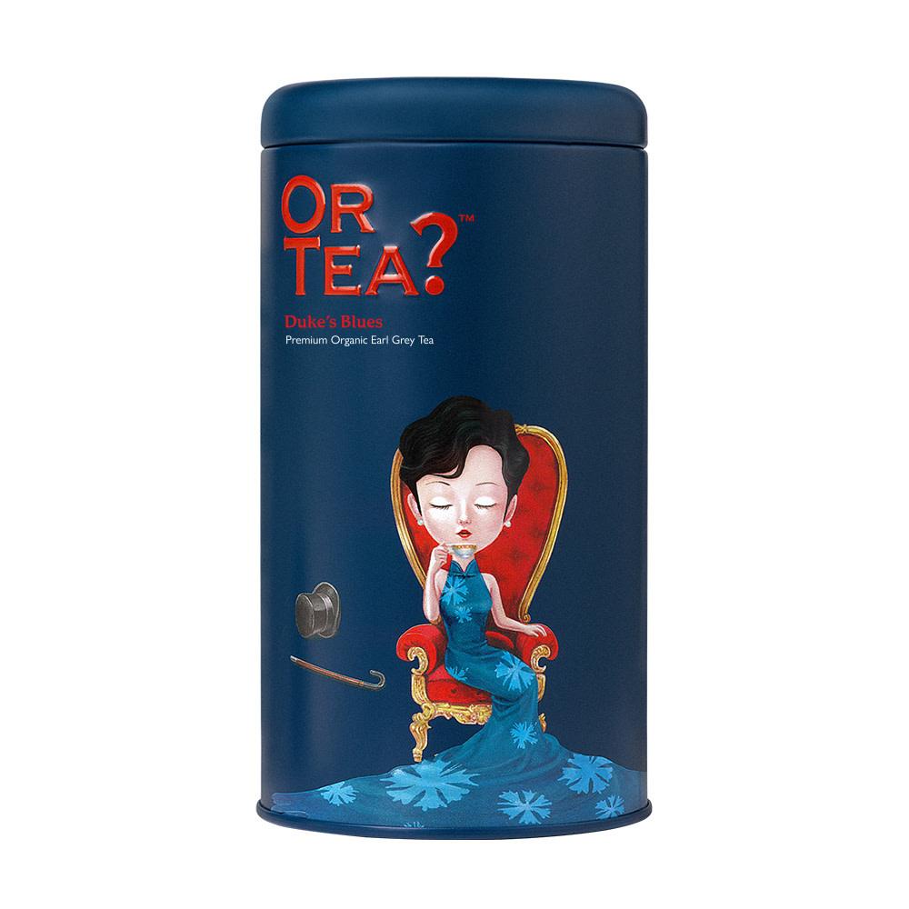 Or Tea? Or Tea? Tin canister Duke's Blues (earl grey) 100 gr.