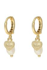With love Earrings sweet love