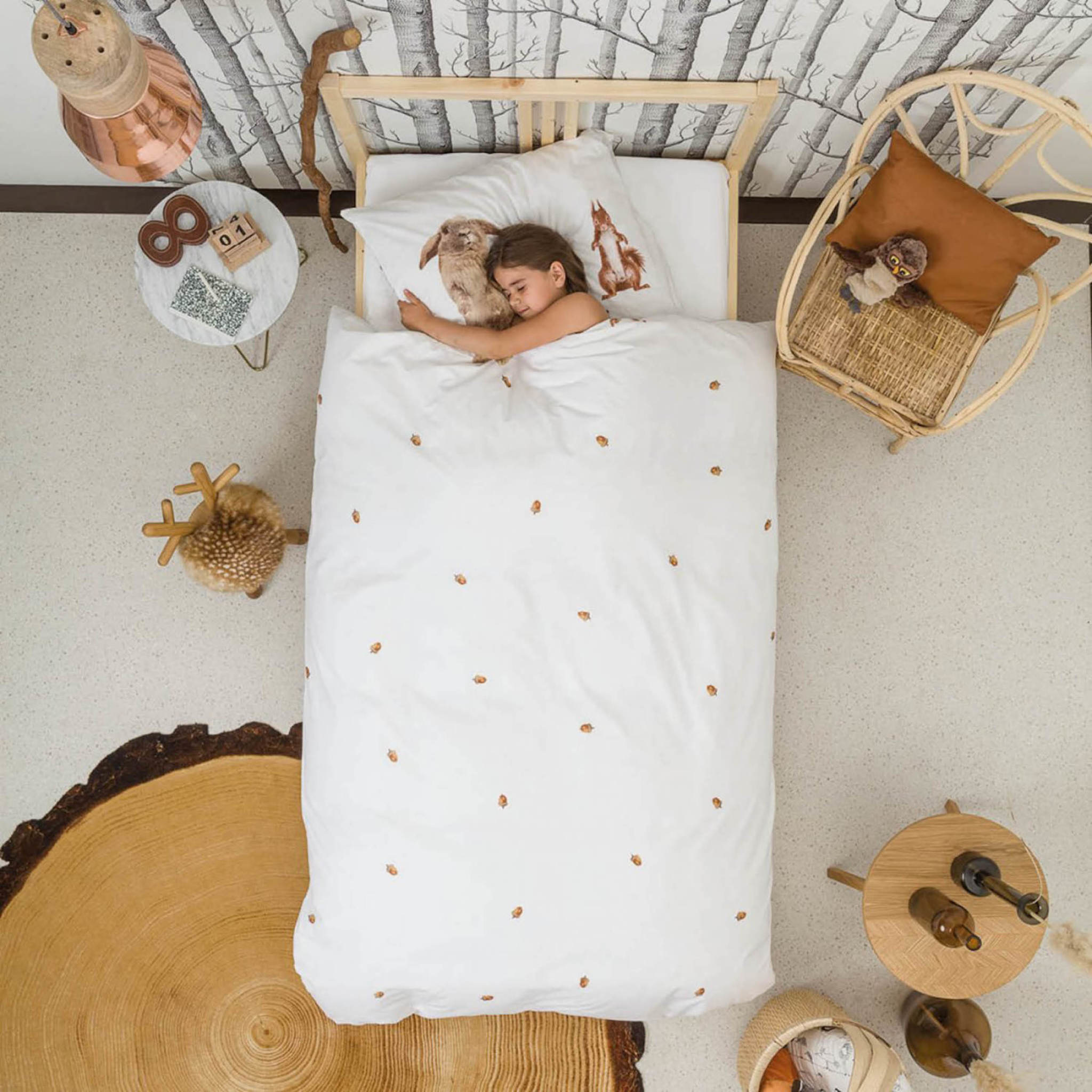 Snurk Bedding Snurk Furry Friends 140 x 200/220 cm