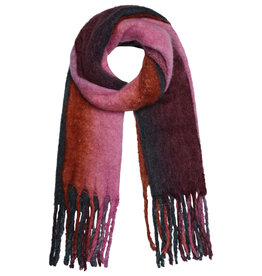 With love Scarf balage - pink