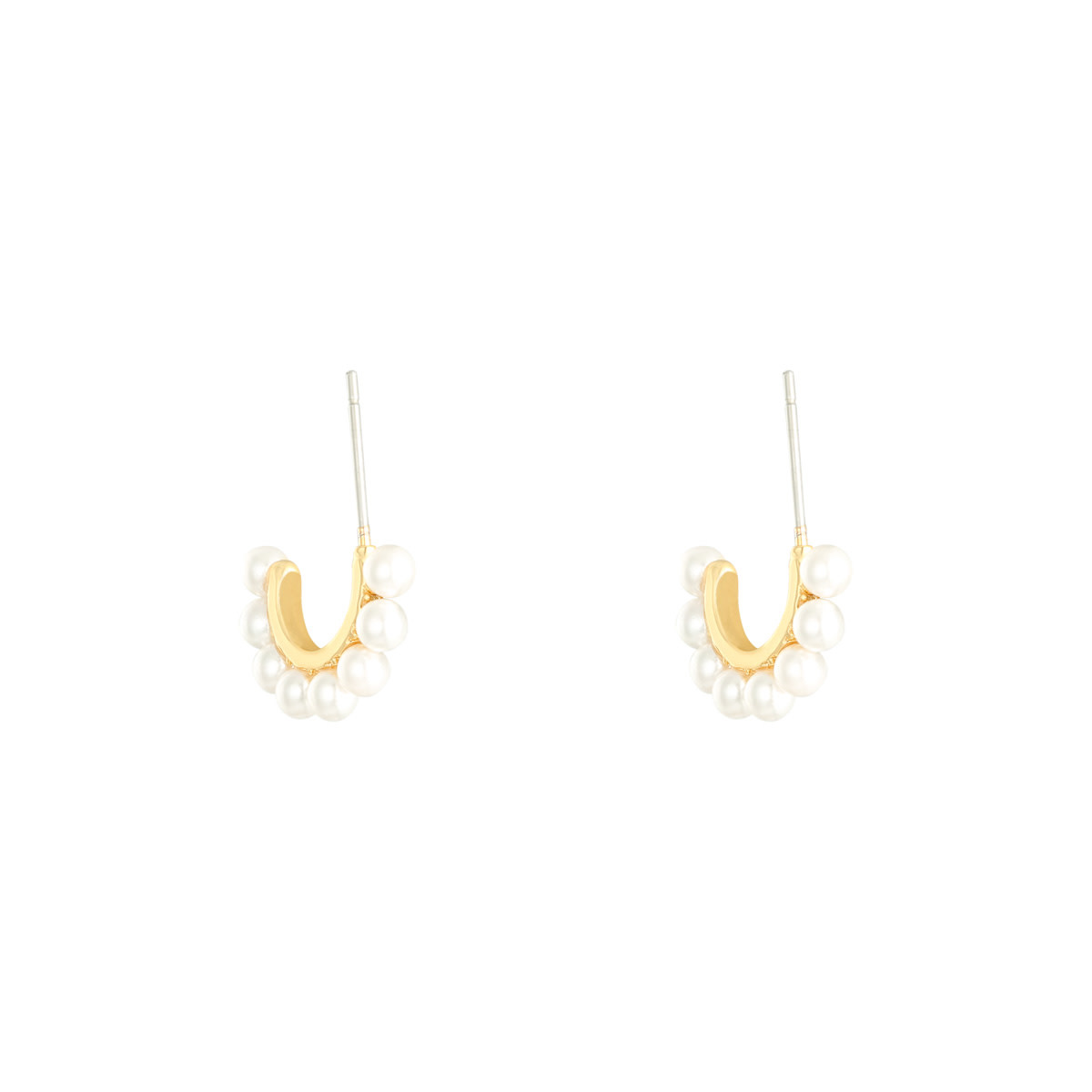 With love Earrings pearly girl