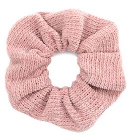 With love Scrunchie corduroy vintage pink
