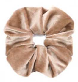 With love Scrunchie light brown