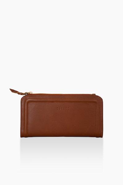 Détail Destiny wallet Cognac
