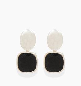 Détail Detail earrings Lidia Onyx (7732)