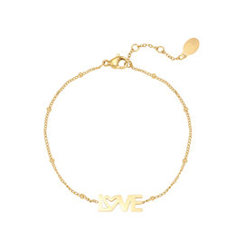 With love Bracelet dotted LOVE