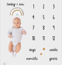Lannoo Uitgeverij Mom milestone blanket - Mama Baas
