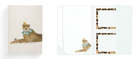 Enfant Terrible Enfant Terrible briefpapier 'leopard'