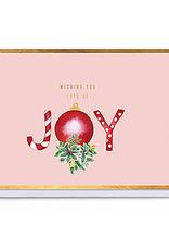 Enfant Terrible Enfant Terrible card  + enveloppe 'wishing you lots of joy'