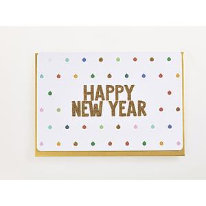 Enfant Terrible Enfant Terrible card  + enveloppe 'happy new year'
