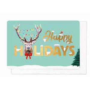 Enfant Terrible Enfant Terrible 5 greeting cards  + enveloppes 'happy holidays'