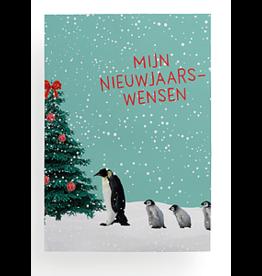 Enfant Terrible Mijn nieuwjaarswensen - pinguins