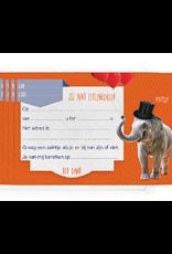 Enfant Terrible Enfant Terrible 5 invitations elephant hat