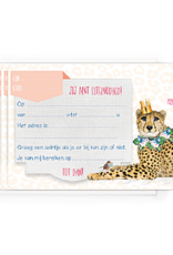Enfant Terrible Enfant Terrible 5 invitations leopard