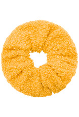 With love Scrunchie teddy ochre yellow