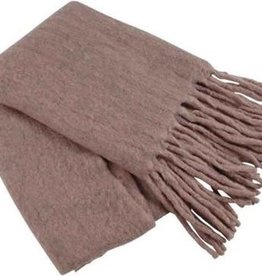 Goround Interior Throw fringes - mauve 130 x 170 cm