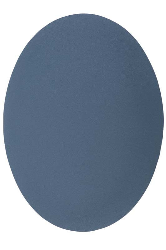 Placemat petrol blue leather look 33 x 45 cm