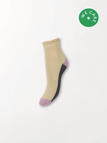 Beck Söndergaard Blocka glam socks - Sandstone 39/41