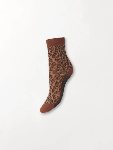 Beck Söndergaard Leo glammy socks - Brownish 39/41