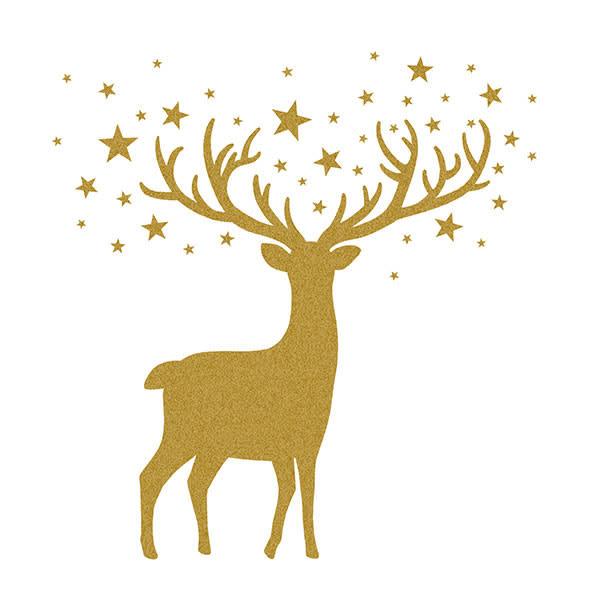Paperproducts Design 20 napkins  deer 33 x 33 cm