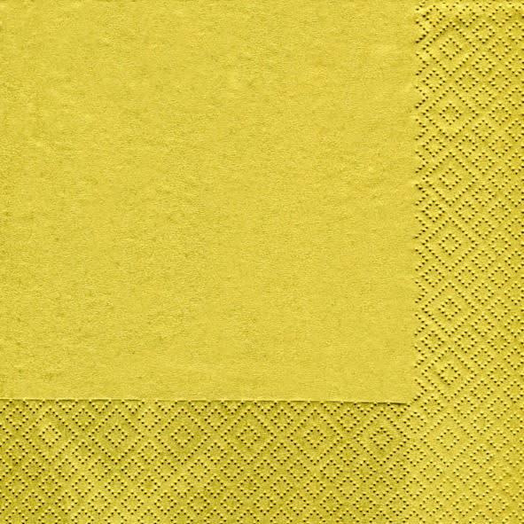 Paperproducts Design 20 napkins gold 25 x 25 cm