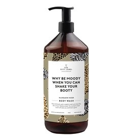 The Gift Label Body wash 1 liter - Why be moody