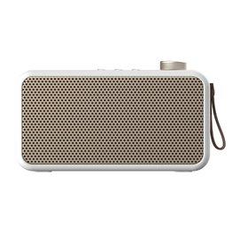 Kreafunk Kreafunk aTune speaker + radio white - champagne