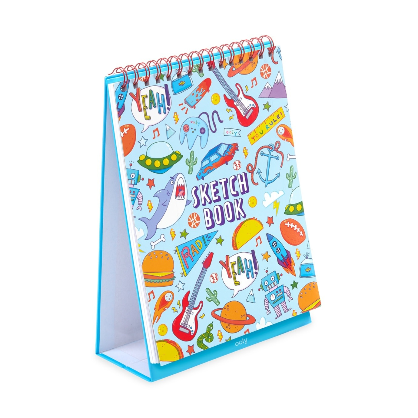 Ooly Ooly standing sketchbook - Awesome doodles