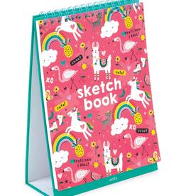 Ooly Ooly standing sketchbook - Funtastic friends