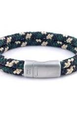 Steel & Barnett Rope bracelet Lake - Hunter camo - Size S